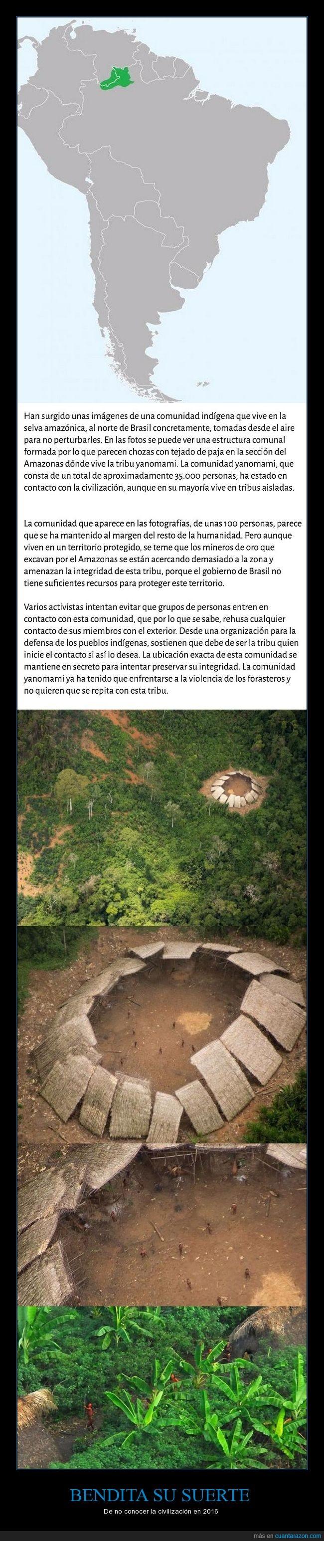 amazonas,civilización,contacto,suerte,tribu