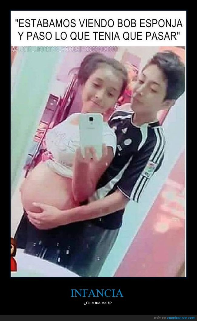 bob esponja,embarazada,infancia,niños