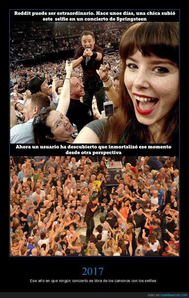 concierto,móvil,selfies,springsteen