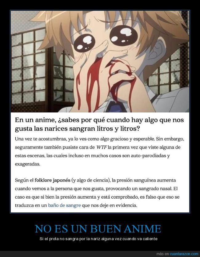anime,nariz,sangrar,sangre
