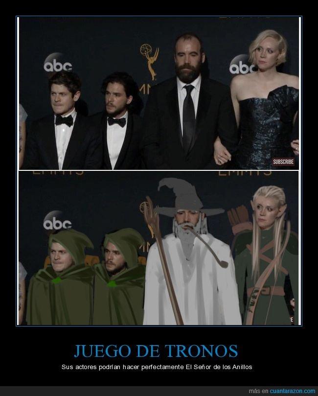 absurdo,bajitos,el señor de los anillos,hobbits,juego de tronos