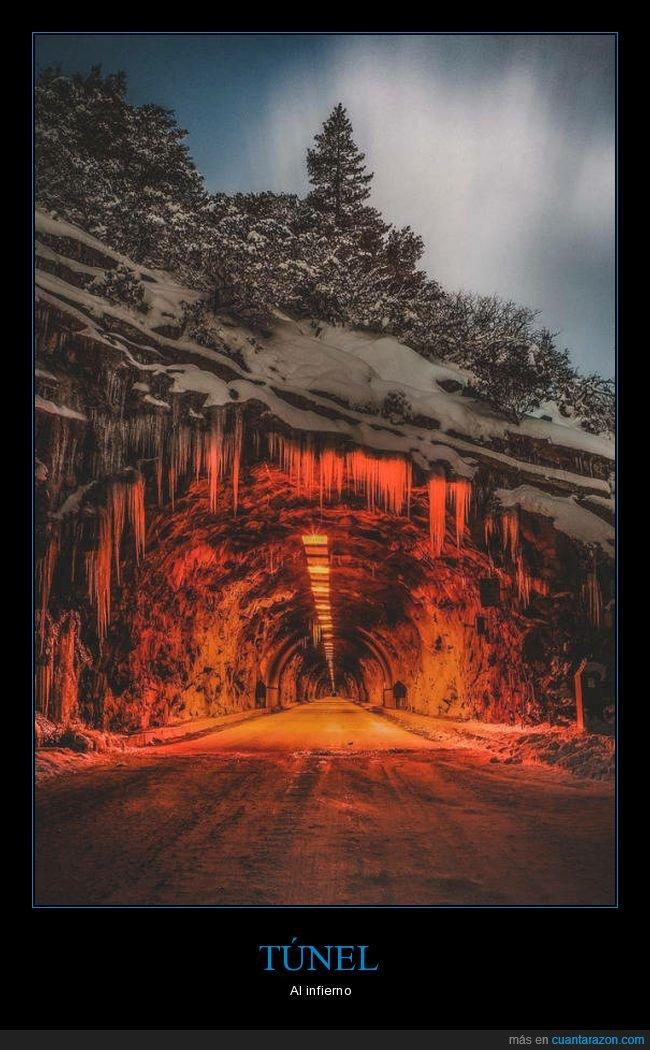 infierno,túnel,wtf