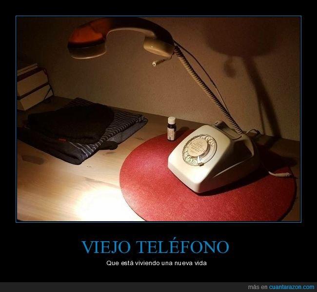 flexo,reciclado,teléfono