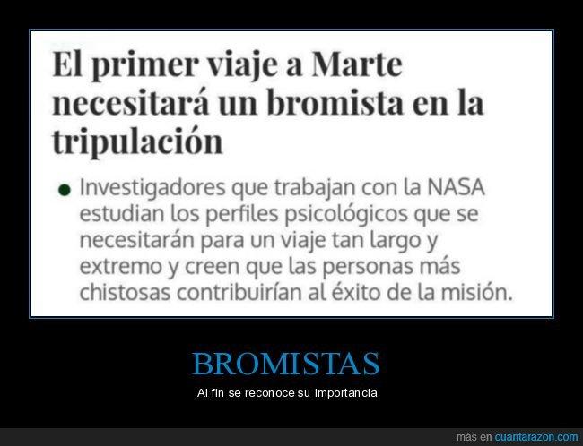 astronauta,bromista,marte,nasa