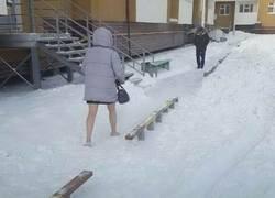Enlace a En las piernas no siente el frío