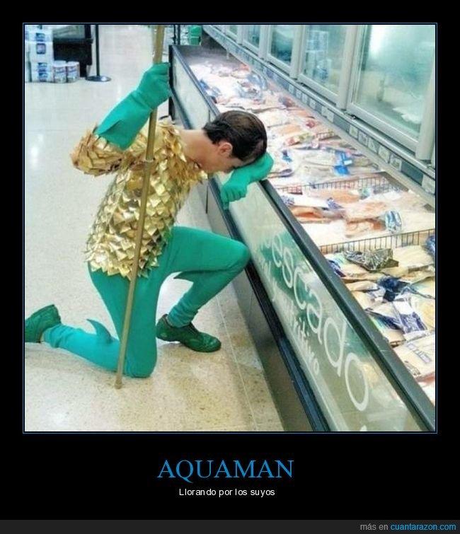 aquaman,pescadería,pescado