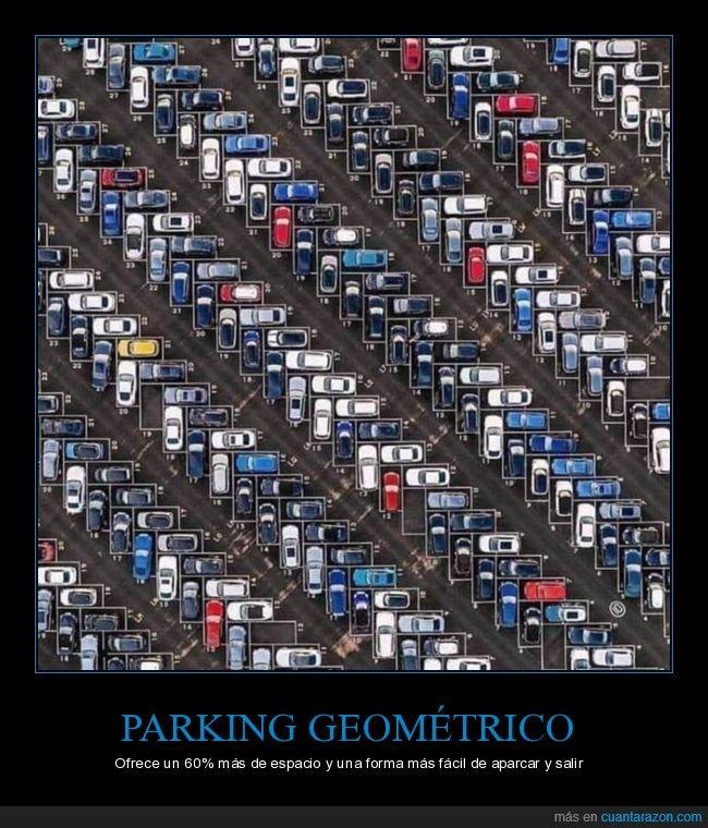 geométrico,parking