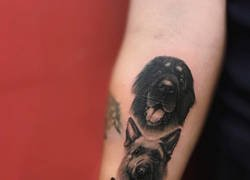 Enlace a Tatuajes de personas que realmente aman a sus mascotas