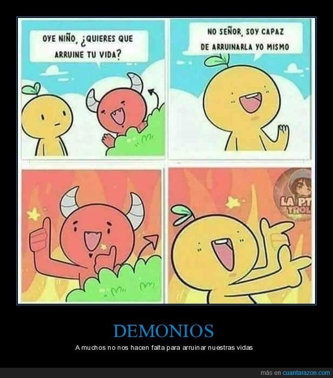 arruinar,demonio,vida