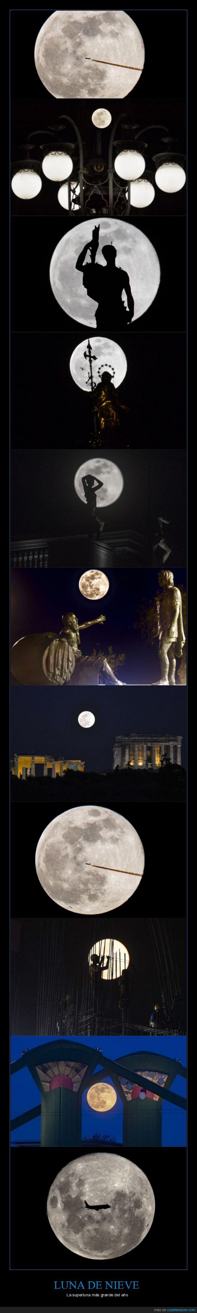 curiosidades,luna,luna de nieve