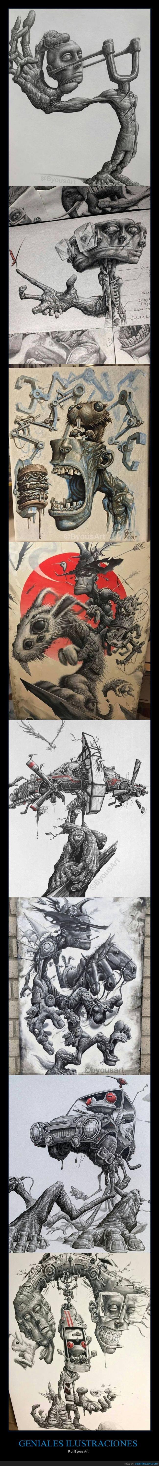 byous art,ilustraciones