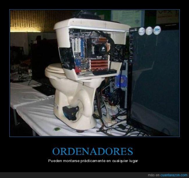 ordenador,váter,wtf
