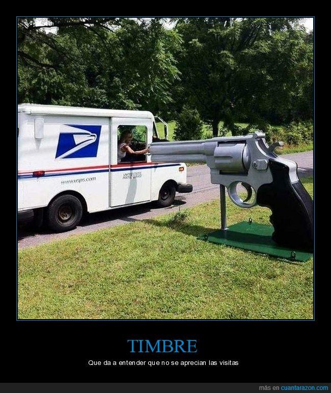 pistola,timbre,wtf