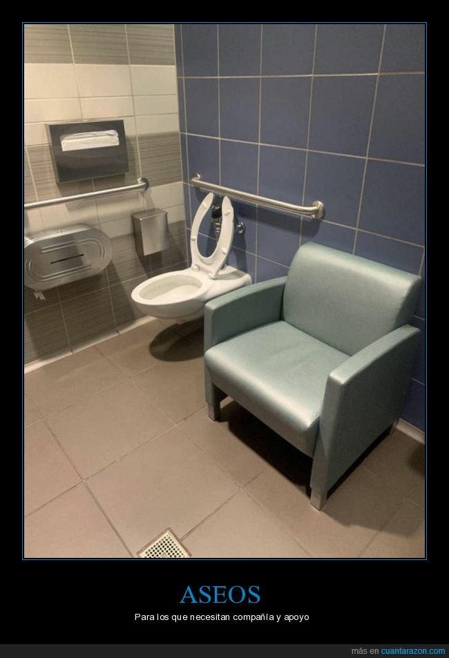 aseo,sillón,váter