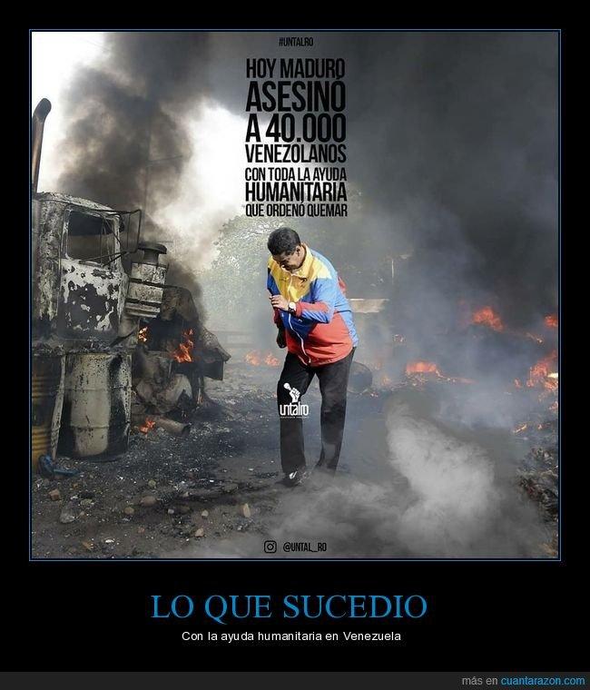 ayuda humanitaria,nicolás maduro,venezuela
