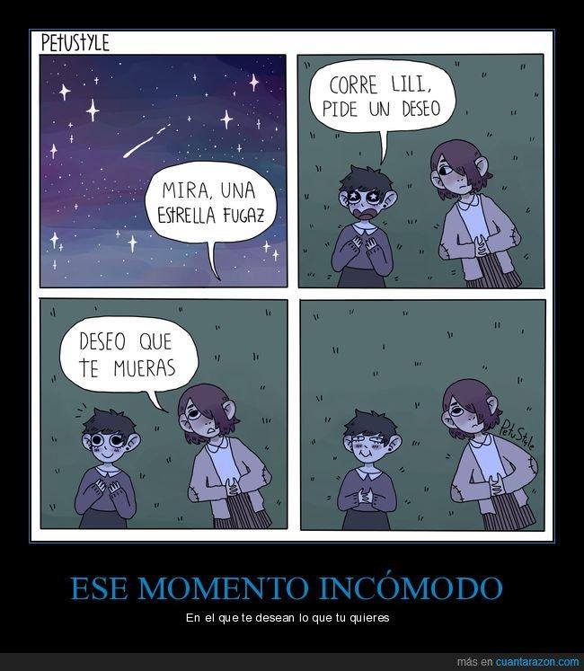deseo,estrella fugaz,morir