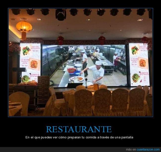 comida,pantalla,restaurante