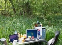 Enlace a Trabajo al aire libre