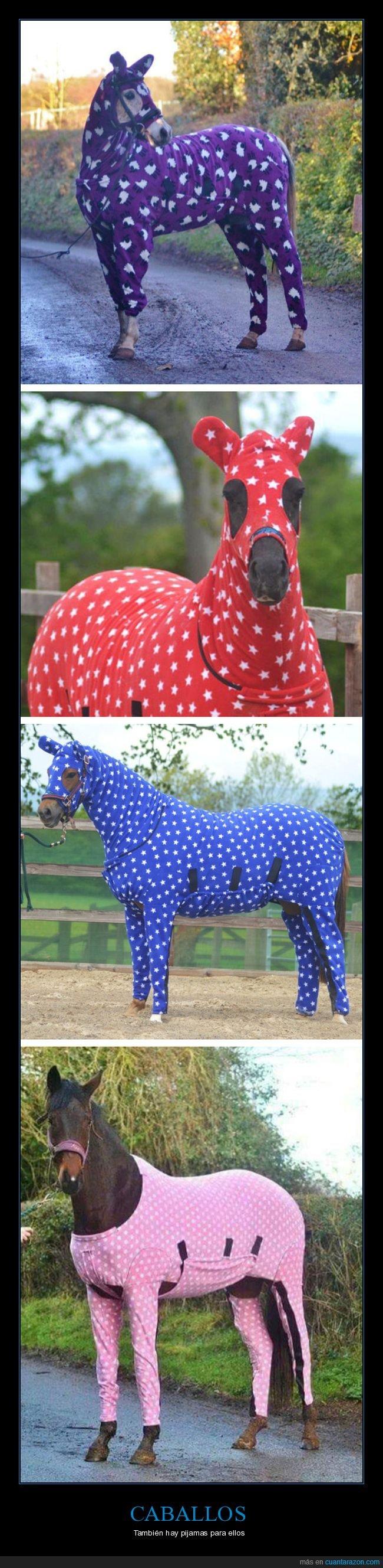 caballos,pijama,pijamas