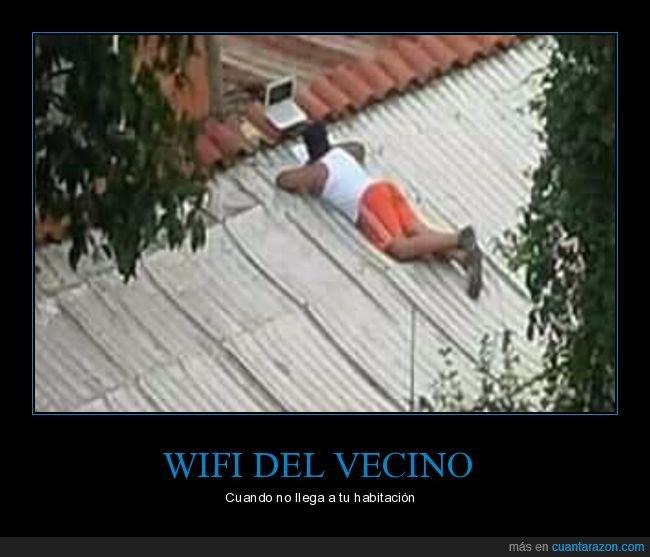 habitación,tejado,vecino,wifi