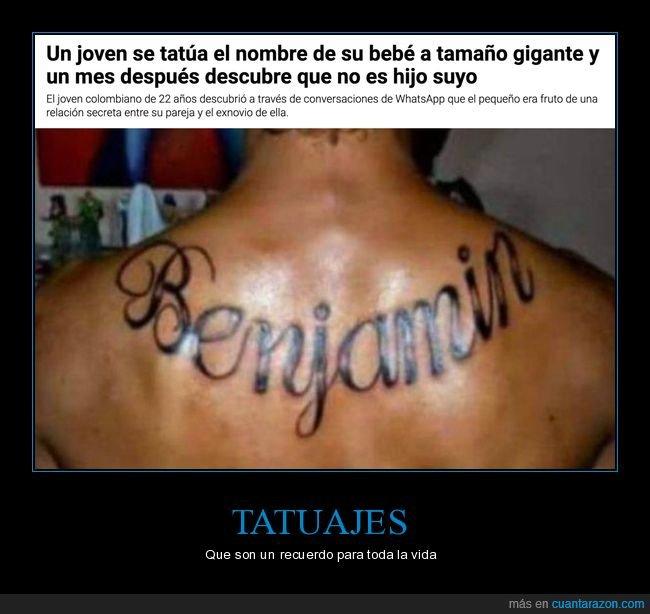 fails,hijo,nombre,tatuaje