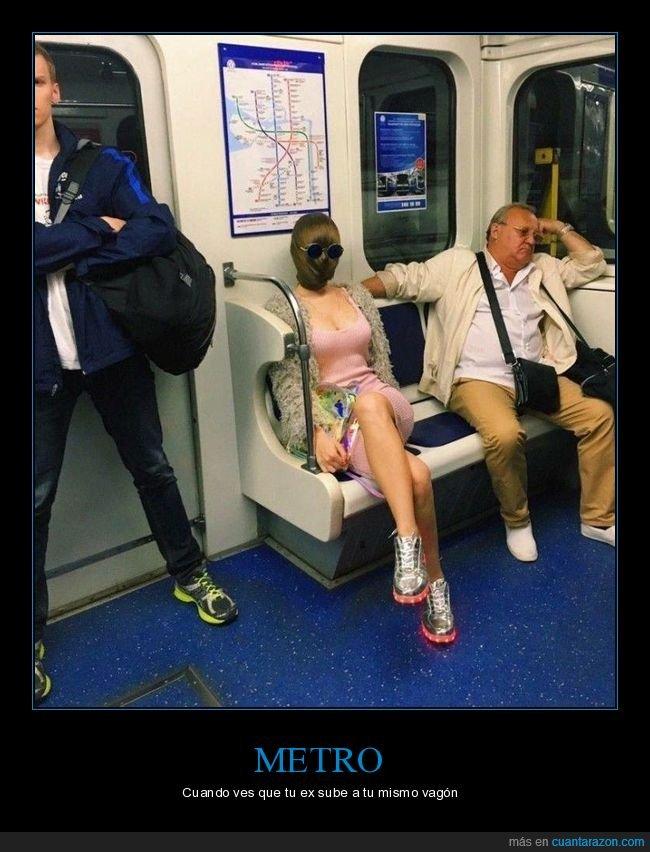 chica,metro,pelo,wtf