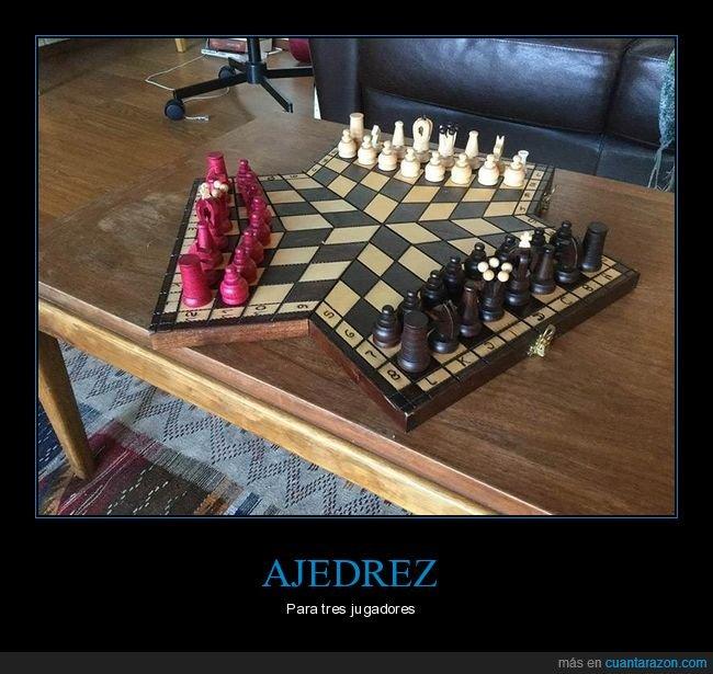 ajedrez,tres