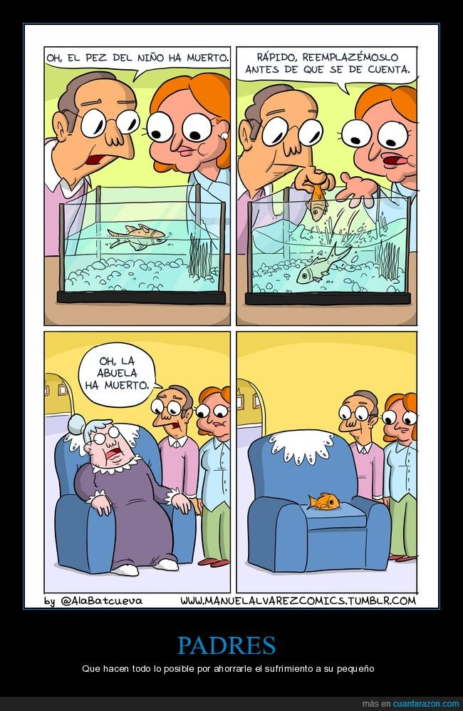 abuela,pez,reemplazar