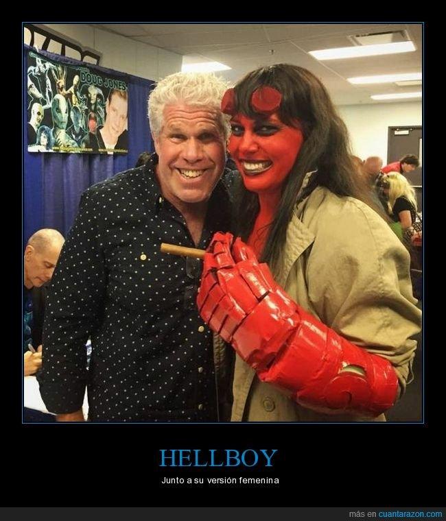cosplay,hellboy,ron perlman