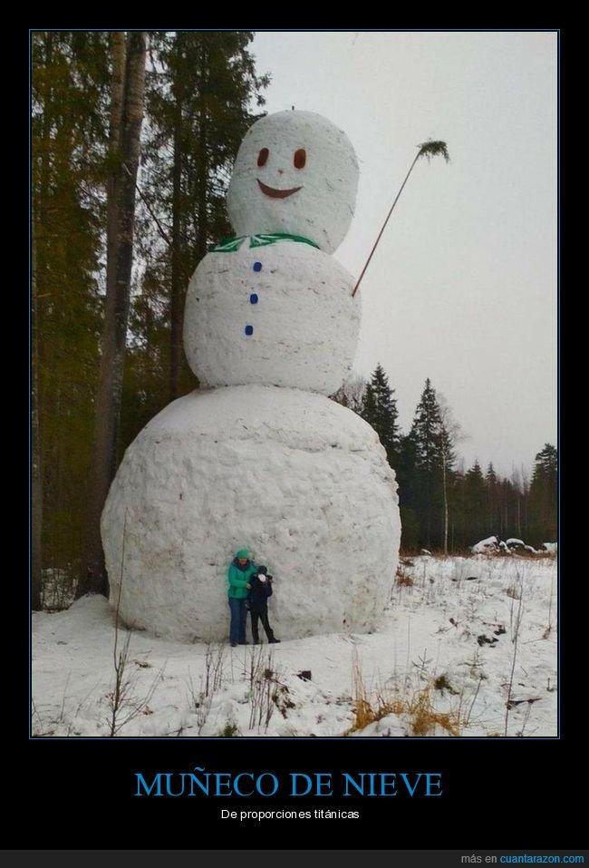 gigante,muñeco de nieve,wtf