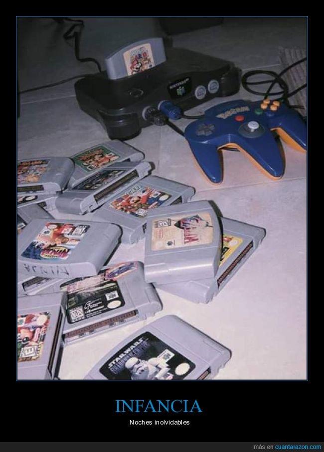 nintendo 64,nostalgia,videojuegos