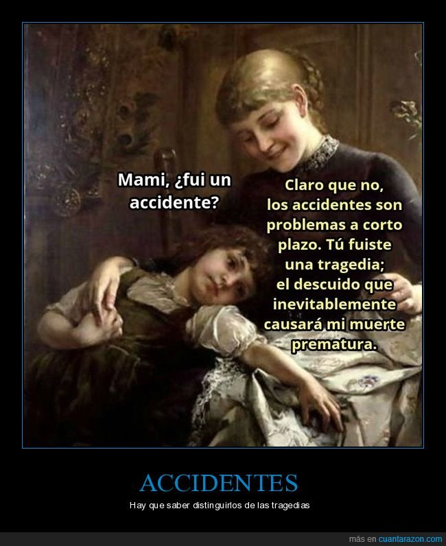accidente,arte,hija,madre,tragedia