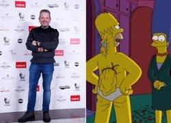 Enlace a Los Simpson también predijeron la pérdida de peso de Chicote