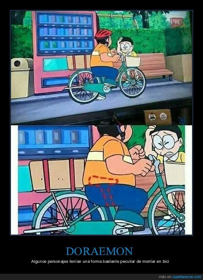 bicicleta,doraemon,wtf