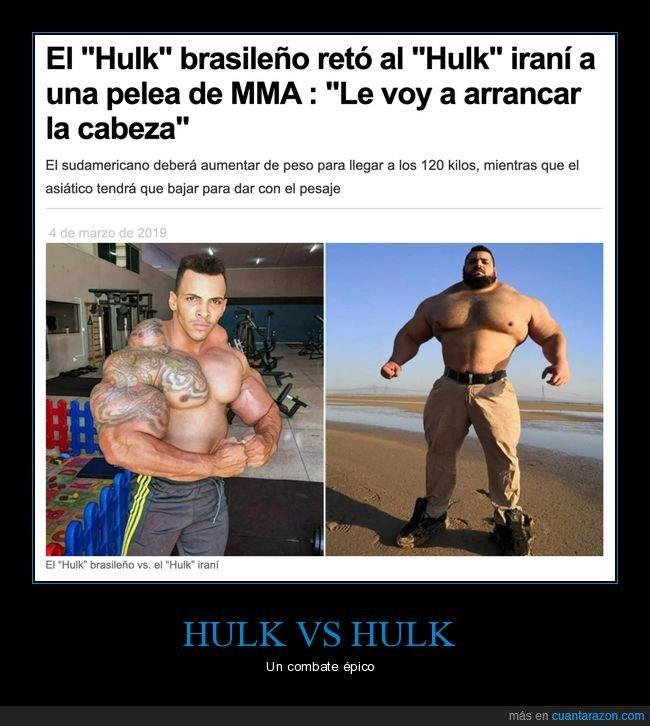 hulk brasileño,hulk iraní,pelea,wtf
