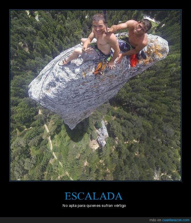 escalada,roca,vértigo