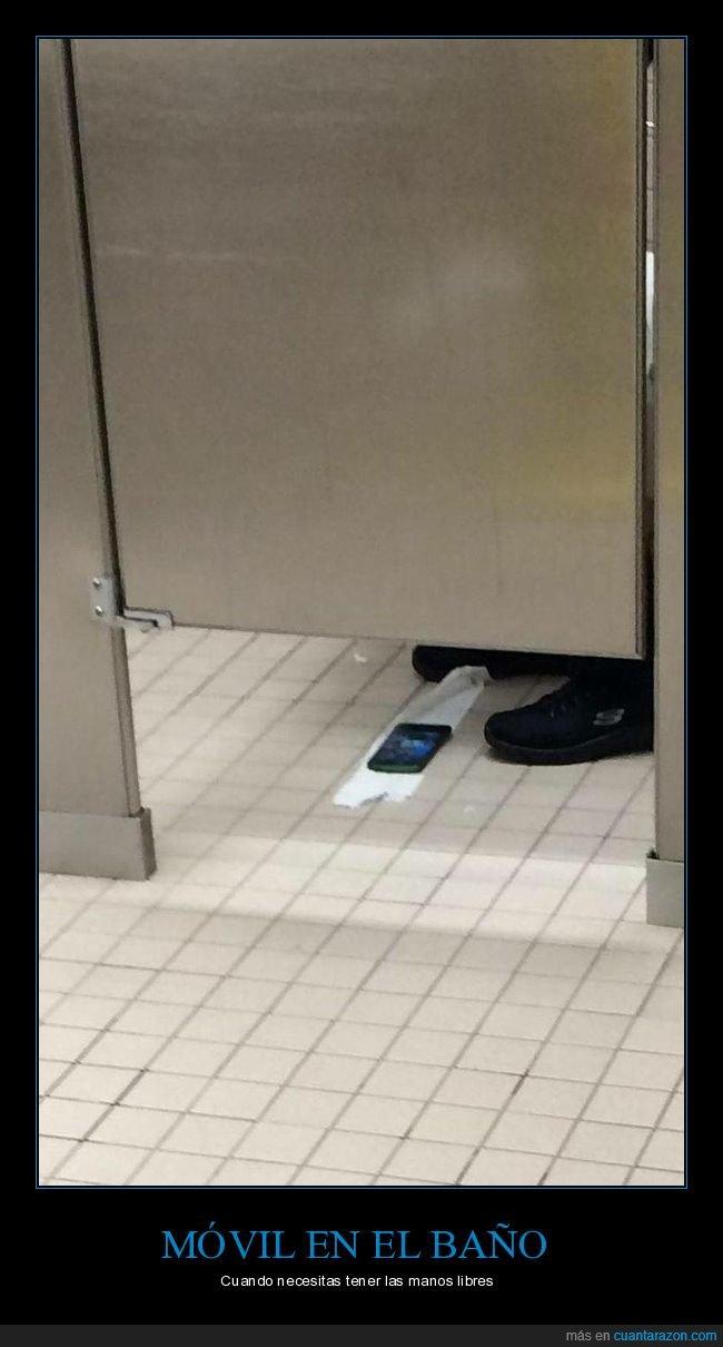 aseo,móvil,papel higiénico