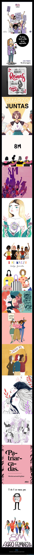 8m,feminismo,huelga feminista,ilustraciones