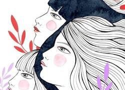 Enlace a Ilustraciones y carteles en Instagram para la huelga feminista del 8M