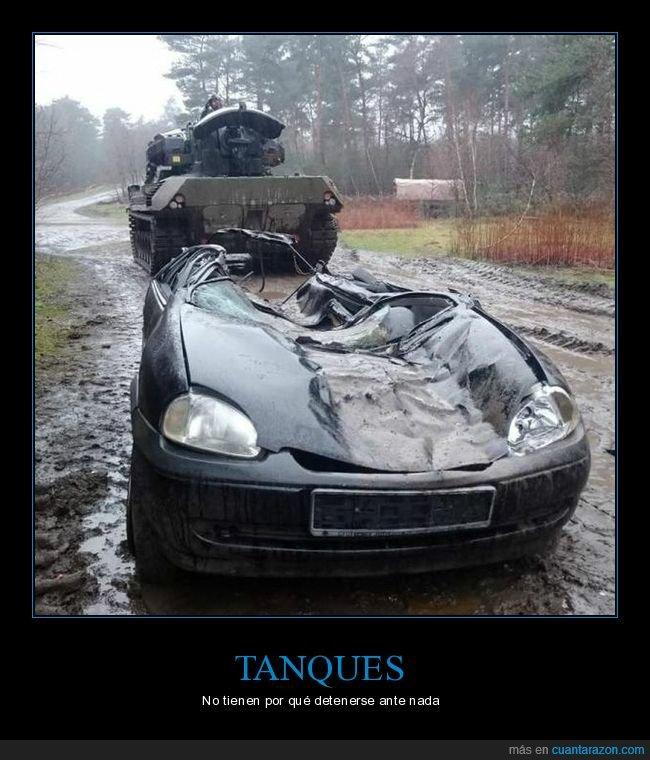 coche,fails,tanque