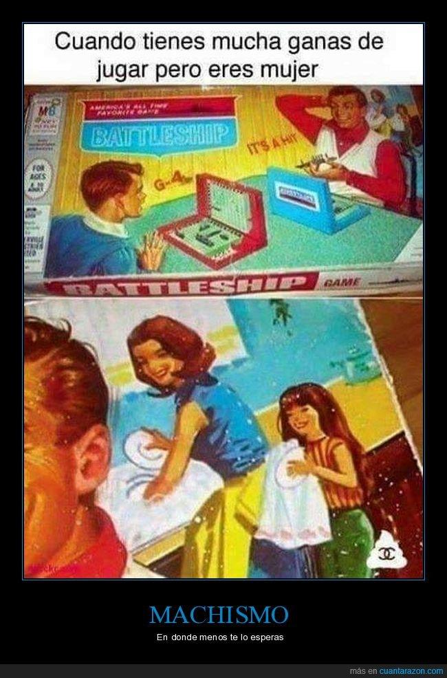 juego de mesa,machismo,mujeres