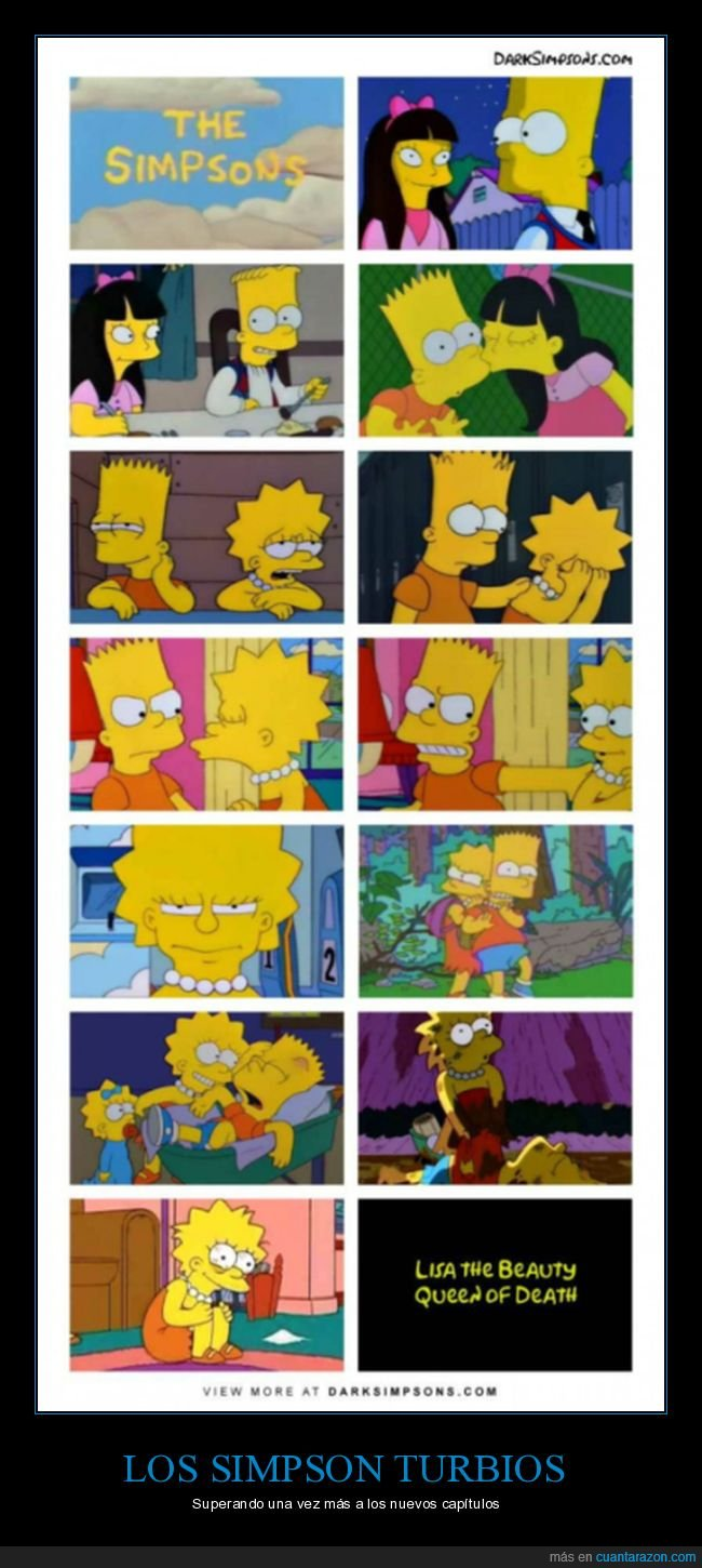 dark simpsons,simpsons