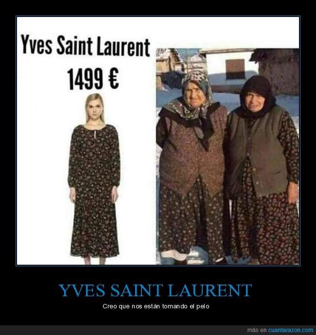 precio,señoras,vestido,yves saint laurent