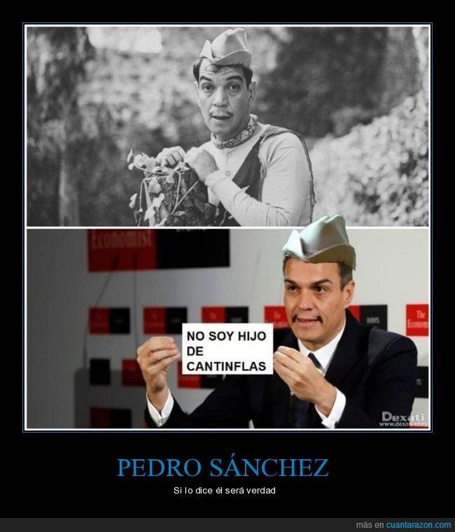 cantinflas,parecidos,pedro sánchez,políticos