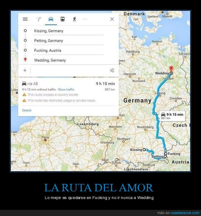 alemania,austria,fucking,kissing,nombre,nombres,petting,pueblos,ruta,wedding