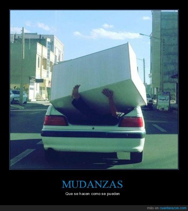 coche,fails,transportando,wtf