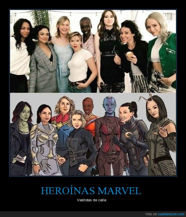 actrices,marvel,personajes