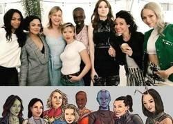 Enlace a Las actrices detrás de las heroínas de Marvel