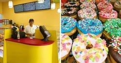 Enlace a Este hijo compartió una foto de su padre triste porque nadie iba a su nueva tienda de donuts, pero se volvió viral y la gente acudió en masa