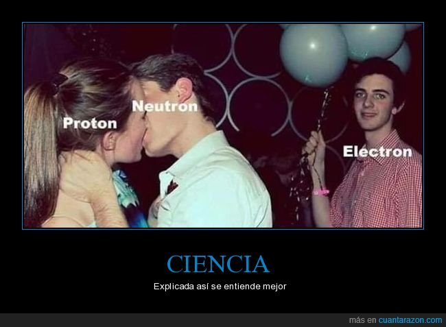 electrón,neutrón,pareja,protón